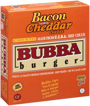 Bubba Burger® Bacon Cheddar Cheeseburger