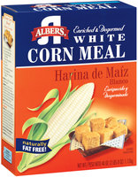 Albers White Enriched & Degermed Corn Meal 40 Oz Box