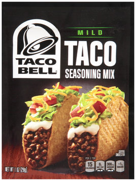 Taco Bell® Mild Taco Seasoning Mix 1 oz. Packet