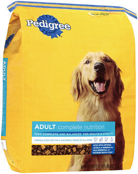Pedigree® Adult Complete Nutrition Dry Dog Food 50 lb. Bag