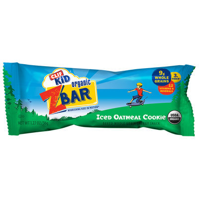 CLIF Kid® Organic ZBar Iced Oatmeal Cookie Energy Snack 1.27 oz. Pack