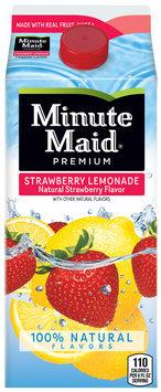 Minute Maid® Premium Strawberry Lemonade 59 fl. oz. Carton
