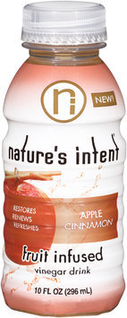 Nature's Intent® Apple Cinnamon Vinegar Drink 10 fl. oz. Bottle