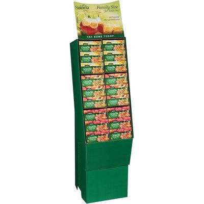 Salada® Tropical Fruit/Peach Nectarine/Raspberry Green Iced Tea 54 ct. Display