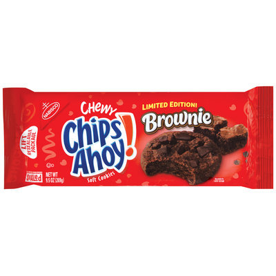 Nabisco Chips Ahoy! Chewy Brownie Soft Cookies