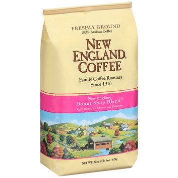 New England® Coffee Donut Shop Blend Freshly Ground Coffee 22 oz. Bag