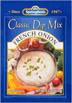 Springfield® Classic Dip Mix French Onion .53 oz. Envelope