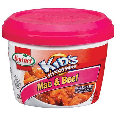 HORMEL KID'S KITCHEN  Microwave Cup Mac & Beef 7.5 OZ CUP