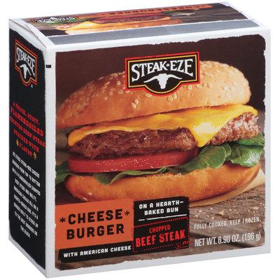 Steak-Eze® Cheese Burger with American Cheese 6.90 oz. Box