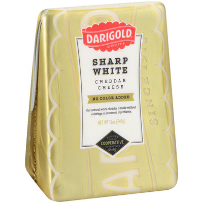 Darigold® Sharp White Cheddar Cheese 12 oz. Wedge