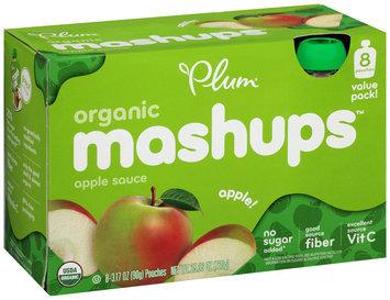 Plum Organics® Mashups™ Apple Sauce 8-3.17 oz. Pouches