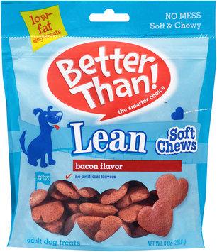 Better Than!™ Bacon Flavor Lean Soft Chews Adult Dog Treats 8 oz. Bag