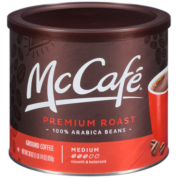 McCafe® Premium Roast Ground Coffee 30 oz. Canister