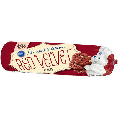 Pillsbury Limited Edition Red Velvet Cookies 16.5 oz. Chub