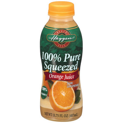 Haggen® 100% Pure Squeezed Orange Juice 13.75 fl. oz.