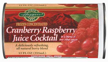 Haggen Cranberry Raspberry Juice Cocktail 12 Oz Can