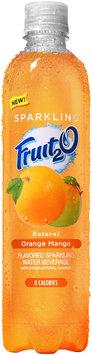 Fruit2O® Natural Orange Mango Flavored Sparkling Water Beverage 17 fl. oz. Plastic Bottle