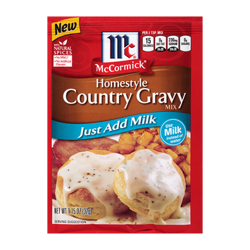 McCormick® Homestyle Country Gravy Mix