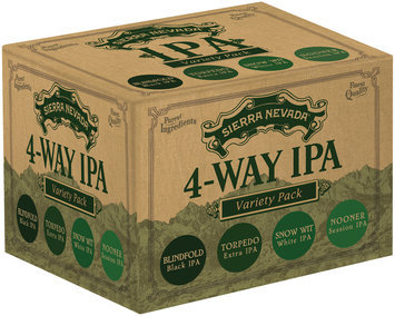 Sierra Nevada 4-Way IPA Variety Pack Beer
