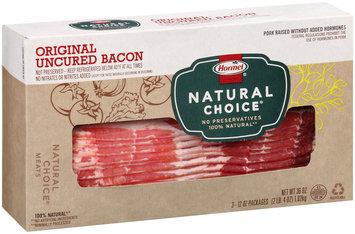 Hormel® Natural Choice® Original Uncured Bacon 36 oz. Box