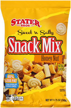 Stater Bros.® Snack Mix Honey Nut Sweet 'n Salty 8.75 oz. Peg