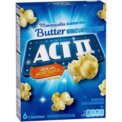 Act II® Butter Microwave Popcorn