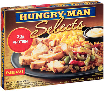 Hungry-Man® Selects Fajita Chicken 16 oz. Box