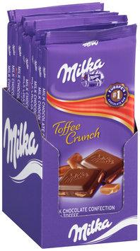Milka Toffee Crunch Milk Chocolate Confection Bar 10-3.52 oz. Bars