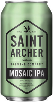 Saint Archer Brewing Company Mosaic IPA Beer 12 fl. oz. Can