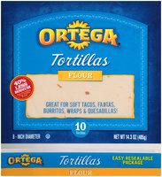 Ortega® Flour Tortillas 10 ct Bag