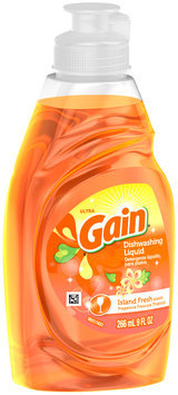 Ultra Gain Dish Liquid Soap Island Fresh
