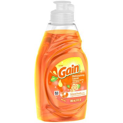 Ultra Gain Dish Liquid Soap Island Fresh
