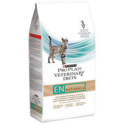 Purina Pro Plan Veterinary Diets EN Gastroenteric Naturals Feline Formula Cat Food 6 lb. Bag