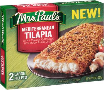 Mrs. Paul's® Mediterranean Tilapia Fillets 2 ct Box