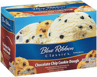 Blue Bunny® Blue Ribbon Classics® Chocolate Chip Cookie Dough Light Ice Cream 1.75 qt. Carton