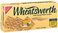 Nabisco Wheatsworth Stone Ground Wheat Crackers 11.5 Oz Box