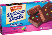 Mrs. Freshly's® Candy Topped Fudge Brownies 4-1.5 oz. Packs