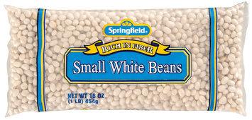 Springfield Small  White Beans 16 Oz Bag