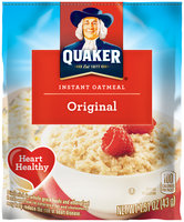 Quaker Original Instant Oatmeal 1.51 Oz. Pouch