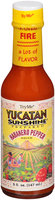 Try Me® Yucatan Sunshine Habanero Pepper Sauce 5 fl. oz. Bottle