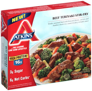 Atkins™ Beef Teriyaki Stir-Fry 8 oz. Box
