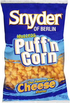 Snyder® of Berlin Popcorn Puffed Hulless Cheese 6.5 oz BAG