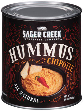 Sager Creek Vegetable Company™ Chipotle Hummus 31 oz. Can