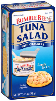 Bumble Bee® Ready to Eat Tuna Salad with Crackers 3.25 oz. Box