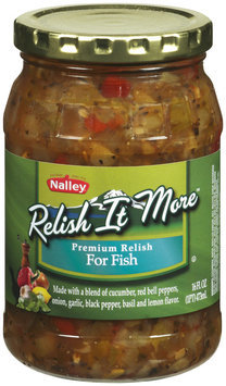 NALLEY Relish It More For Fish Relish 16 FL OZ JAR