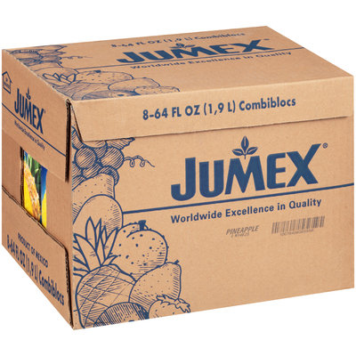 Jumex® Pineapple Nectar 8-64 fl. oz. Cartons