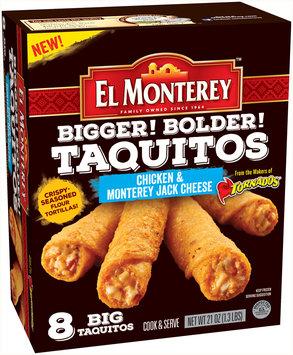 El Monterey™ Chicken & Monterey Jack Cheese Taquitos 8 ct Box