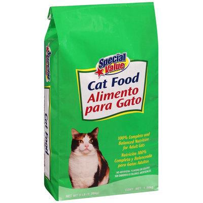 Special Value® Cat Food 3 lb. Bag