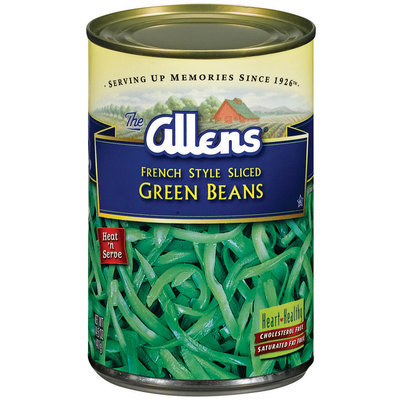 The Allens French Style Sliced Green Beans 14.5 Oz Can