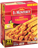 El Monterey® Beef Taquitos 21 ct Box